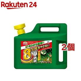 アースガーデン 除草剤 アースカマイラズ 草消滅 ジョウロヘッド(4.5L*2個セット)【アースガーデン】