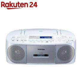 東芝 CDラジオカセットレコーダー シルバー TY-CDS7(S)(1台)【東芝(TOSHIBA)】