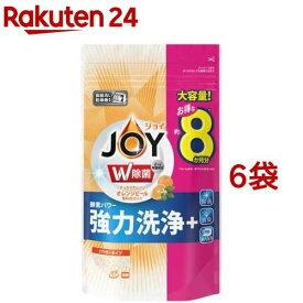 ジョイ 食洗機用洗剤 オレンジピール成分入り つめかえ用 特大(930g*6袋セット)【ジョイ(Joy)】