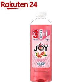 ジョイコンパクト 食器用洗剤 フロリダグレープフルーツの香り 詰め替え(440ml)【ジョイ(Joy)】