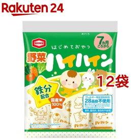 野菜ハイハイン(53g*12袋セット)
