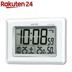セイコー 電波掛置兼用時計 SQ424W(1台)【セイコー】