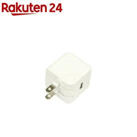 プロテック USB AC充電器 大容量2400mA ホワイト PAC-2400WH(1コ入)【プロテック(Protek)】