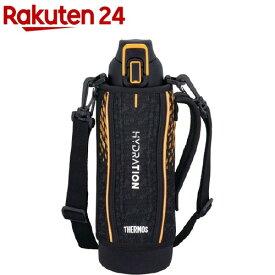 サーモス 真空断熱スポーツボトル 1L ブラックオレンジ FHT-1001F BKOR(1個)【サーモス(THERMOS)】