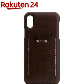 SLG iPhone XR ミネルバボックスレザーバックケース ブラウン SD13686i61(1個)【SLG Design(エスエルジーデザイン)】