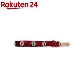 犬用革首輪 LLサイズ AT-134 赤(1コ入)