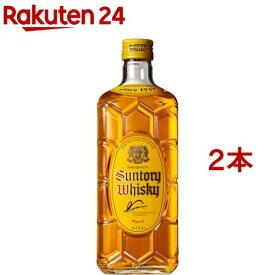 サントリー ウイスキー 角瓶(700ml*2本セット)【角瓶】