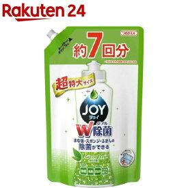 除菌ジョイ コンパクト 緑茶の香り 超特大 つめかえ用(1065mL)【StampgrpB】【tkkf9】【ジョイ(Joy)】