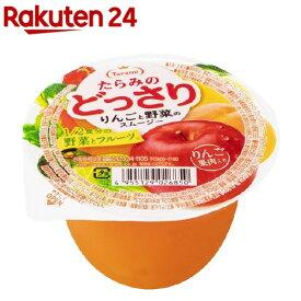 たらみのどっさり りんごと野菜のスムージー(230g*6個入)【どっさりシリーズ】
