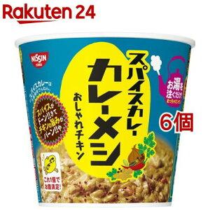 日清スパイスカレー カレーメシ おしゃれチキン(91g*6個セット)【日清】