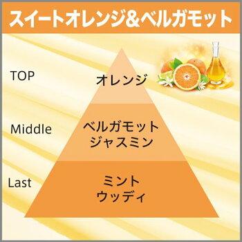 お部屋の消臭力プレミアムアロマスイートオレンジ&ベルガモットの香り