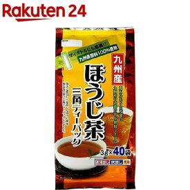 寿老園 九州産ほうじ茶 三角ティーパック(3g*40包)