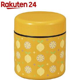 弁当箱 アルテ ダブルウォール ランチ レモン (上段)250ml (下段)300ml(1コ入)