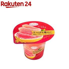 とろける味わい 本格ピンクグレープフルーツジュレ(210g*6コ入)【たらみ】
