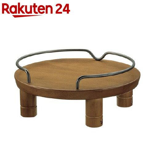 リッチェル ペット用木製テーブル シングル ブラウン(1コ入)