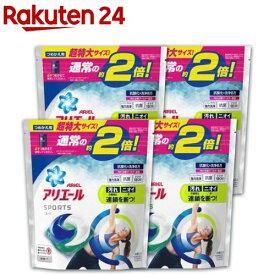 アリエール 洗濯洗剤 ジェルボール3D プラチナスポーツ 詰め替え 超特大(26コ入*4コセット)【wis02】【tktk01】【アリエール】