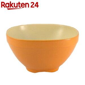 アサヒ興洋 茶碗 オレンジ&ライトベージュ Solow Diner(1個)