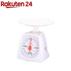 タニタ クッキングスケール 1439 2000g ホワイト 1439-WH-2kg(1台)【タニタ(TANITA)】