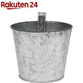 グリーンハウス フレンチシルバーブリキ M 3396-A フックツキ(1コ入)【グリーンハウス(ガーデニング用品)】