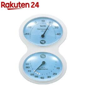 タニタ 温湿度計 ブルー TT-509-BL(1台)