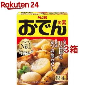S&B おでんの素(6皿分*4袋入*3箱セット)【atk_m1】