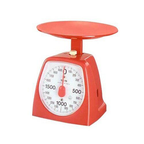 タニタクッキングスケール14392000gレッド1439-RD-2kg