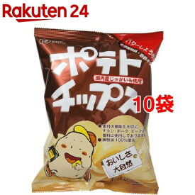創健社 ポテトチップス バター醤油味(60g*10コ)
