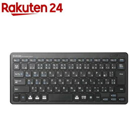 エレコム ミニキーボード Bluetooth 薄型 軽量 パンタグラフ コンパクト TK-FBP100BK(1個)