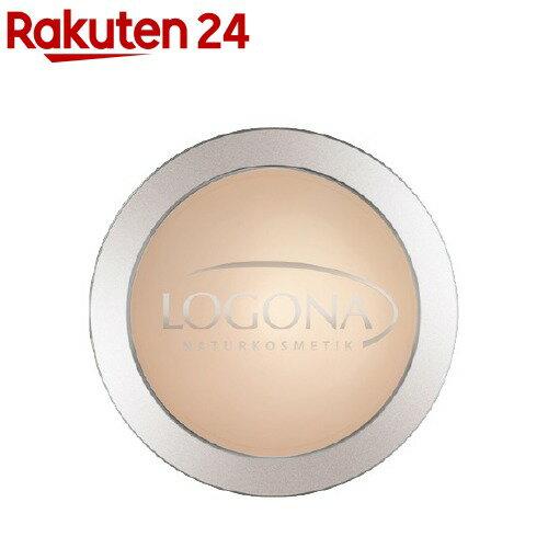 ロゴナ プレストパウダー 01 ライトベージュ(10g)【ロゴナ(LOGONA)】