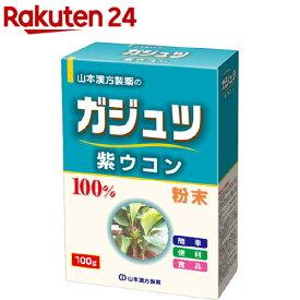 山本漢方 ガジュツ粉末100% 紫ウコン(100g)【山本漢方】