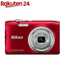 【アウトレット】ニコン デジタルカメラ クールピクス A100 レッド(1台)【クールピクス(COOLPIX)】