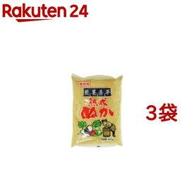 マルアイ食品 麹屋甚平 補充用熟成ぬか(400g*3コセット)