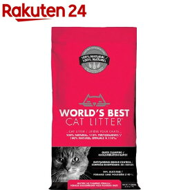 猫砂 ワールドベストキャットリッター マルチキャット クランピングフォーミュラ(3.18kg)【ワールドベストキャットリッター(WBCL)】