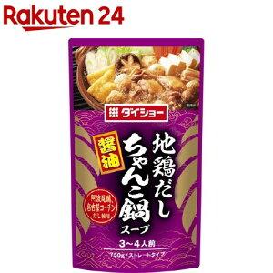 ダイショー 地鶏だしちゃんこ鍋スープ 醤油(750g)