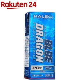 ハレオ ブルードラゴン ドリンク ストロベリー(200ml*24本)【ハレオ(HALEO)】