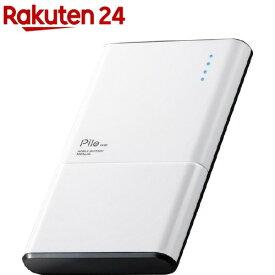 エレコム モバイルバッテリー 薄型 5000mAh PSE適合 ホワイト DE-M06-N5024WH(1個)【エレコム(ELECOM)】