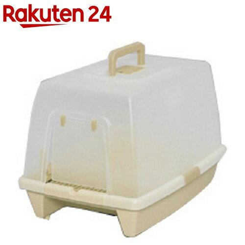 アイリスオーヤマ 砂落としマット付脱臭ネコトイレ SN-520 ミルキーブラウン(1コ入)【アイリスオーヤマ】【送料無料】