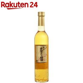 万上 金箔入り梅酒 13%(500mL)【zaiko_03】