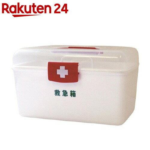 LEポリ救急箱(衛生材料セット付) Mサイズ(1コ)【リーダー】【送料無料】