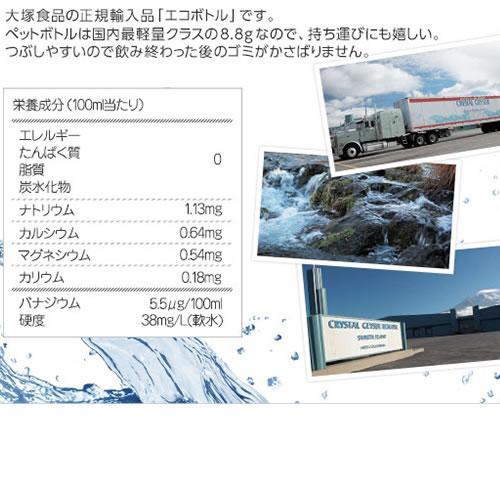 クリスタルガイザーシャスタ産正規輸入品エコボトル水
