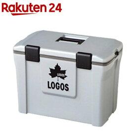 LOGOS(ロゴス) アクションクーラー 小 25L グレー 81448013(1コ入)【ロゴス(LOGOS)】[クーラーボックス]