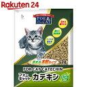 フォーキャット カテキン 7L【楽天24】[新東北化学工業 猫砂・ネコ砂(木・天然素材)]