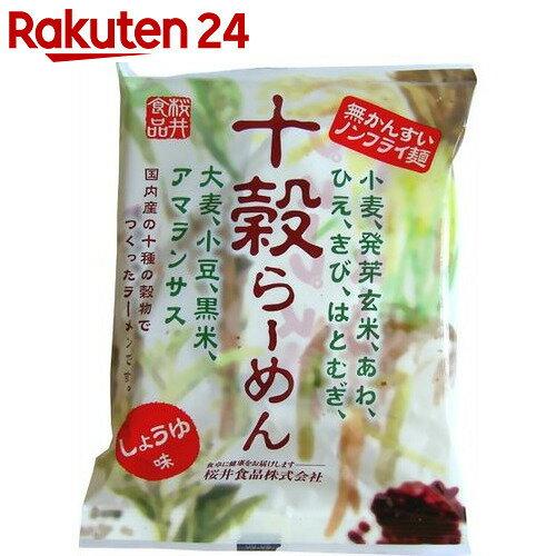 桜井食品 十穀らーめん しょうゆ味 88g