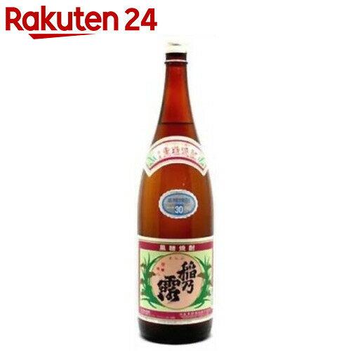 稲乃露 黒糖焼酎 30度 1.8L