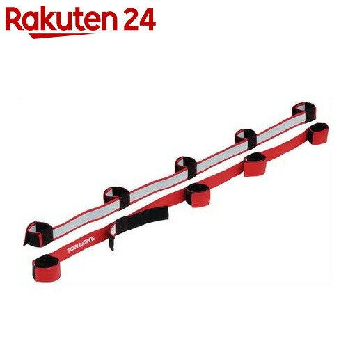 トーエイライト むかでロープ DX5(赤) 5人用(2本1組) B-3384R