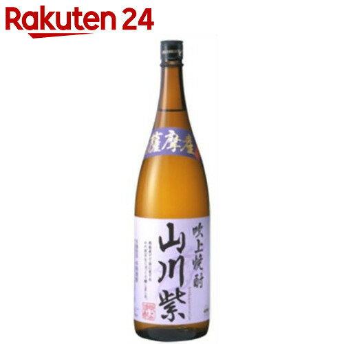 吹上焼酎 山川紫 芋焼酎 25度 1.8L