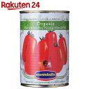 モンテベッロ オーガニック・ホールトマト 400g【楽天24】[スピガドーロ トマト缶詰(トマト缶) ホールトマト]