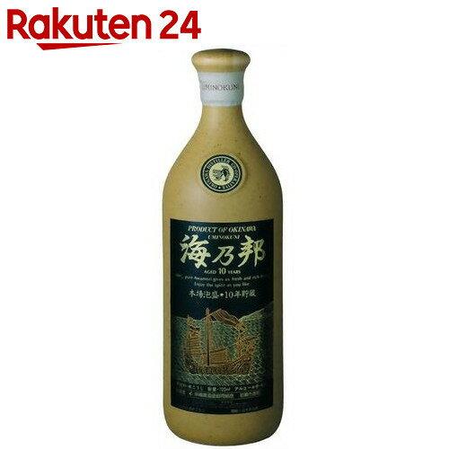 海乃邦 10年貯蔵古酒 43度 720ml