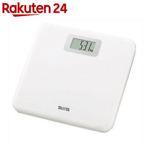 タニタ デジタル ヘルスメーター(体重計) HD-661 ホワイト