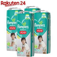 【ケース販売】パンパースさらさらケアパンツビッグサイズ38枚×4パック(152枚入り)
